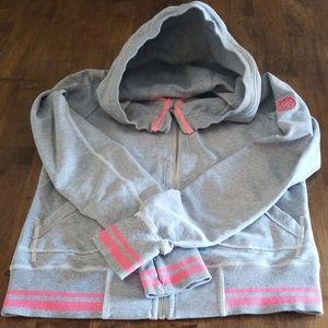 Lightweight zip front Lululemon hoodie size 8